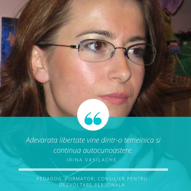 Mentori Kogaion Gifted Academy - Irina Vasilache