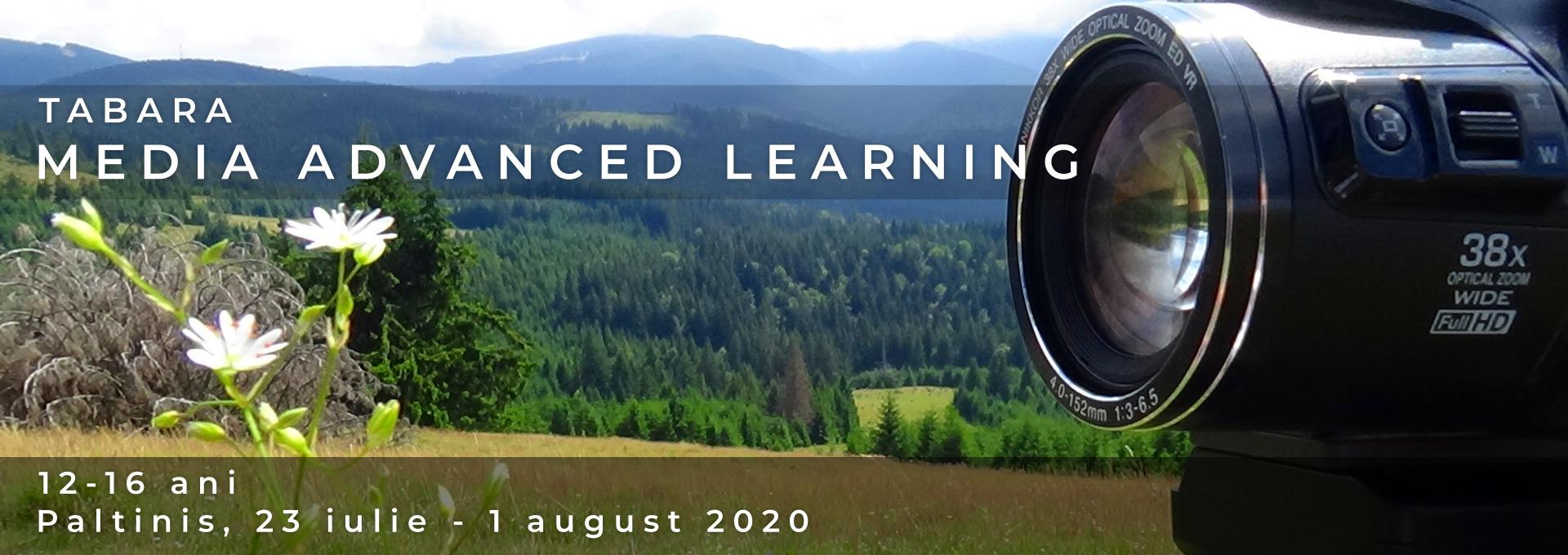 Tabara Media Advanced Learning Paltinis